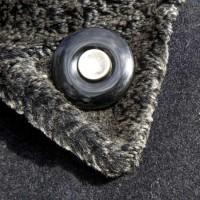 Rouwknoop onyx gedragen als reversspeld
