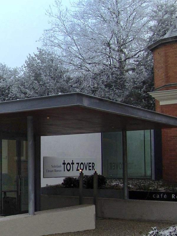 Ingang Uitvaartmuseum Tot Zover