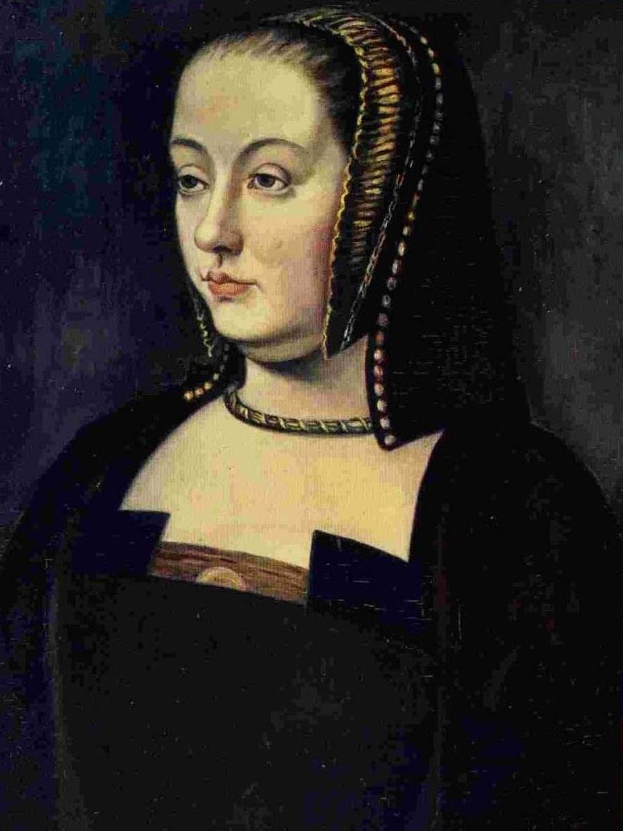 Anne de Bretagne kiest voor zwart als rouwkleur