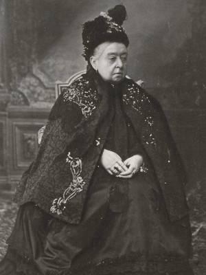 koningin-victoria's-laatste-portret 1900